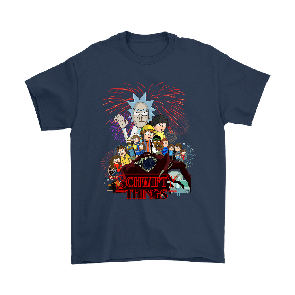 Rick And Morty Stranger Things Schwifty Things Shirts 3