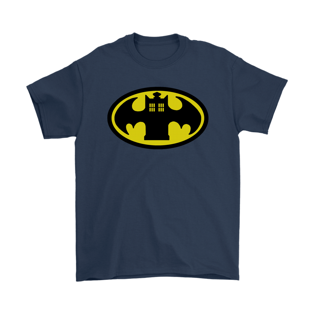 Doctor Who Tardis And Batman Logo Mashup Shirts 2