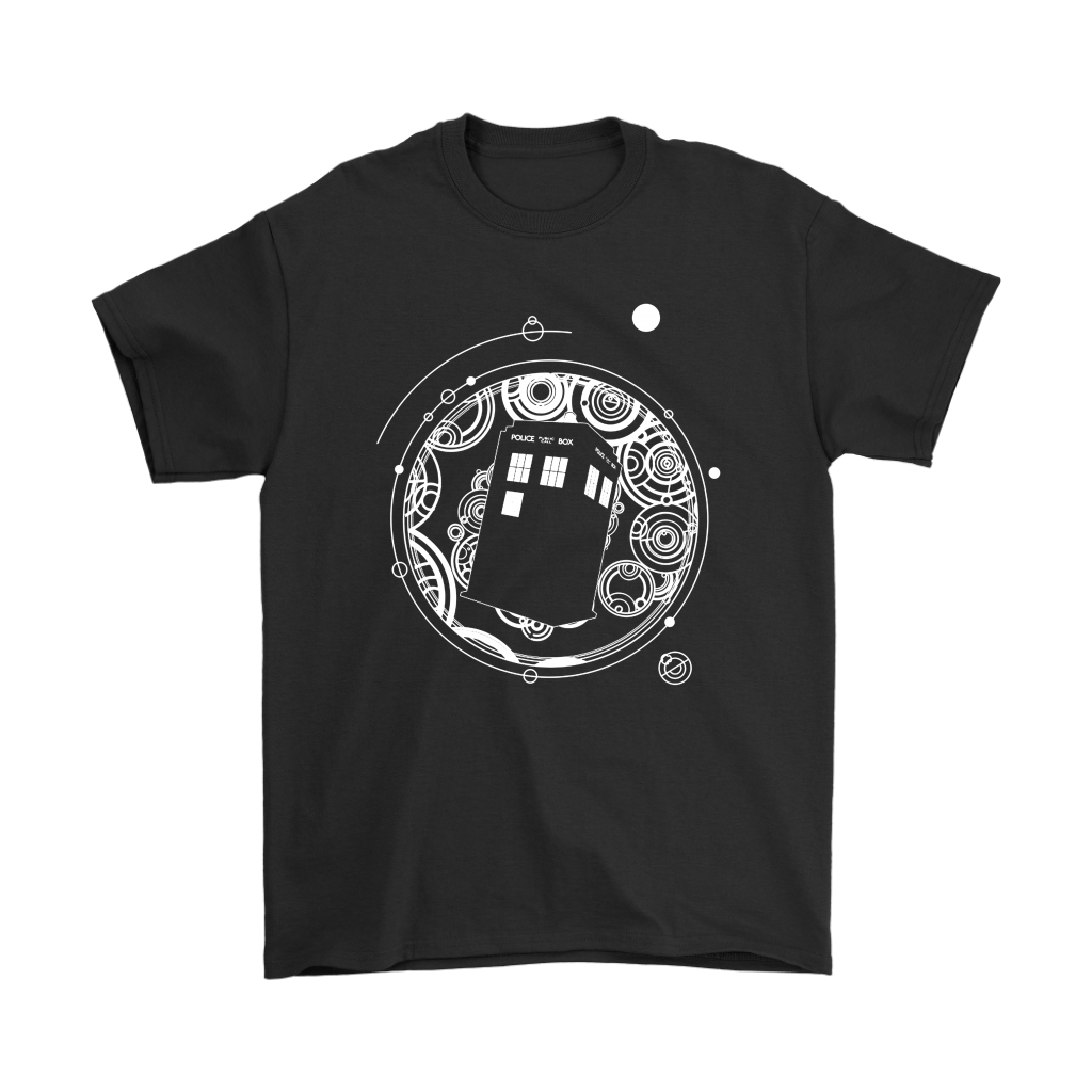 Police Box Tardis Through Space And Time Doctor Who Shirts 1