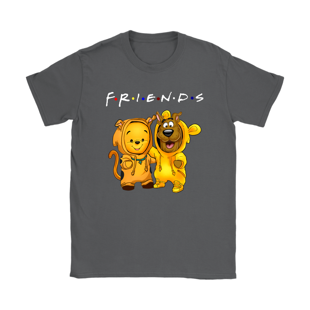 Winnie The Pooh And Scooby Doo Costumes Exchange FRIENDS shirts 7