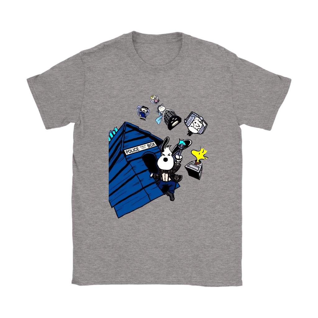 Doctor Who Snoopy And The Peanuts Mashup Shirts 3