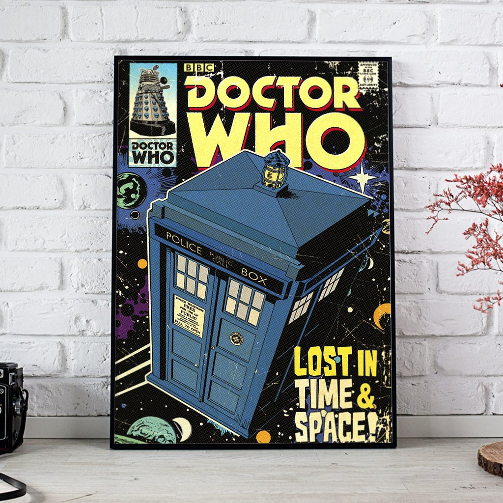 Doctor Who Lost In Time And Space Posters 1