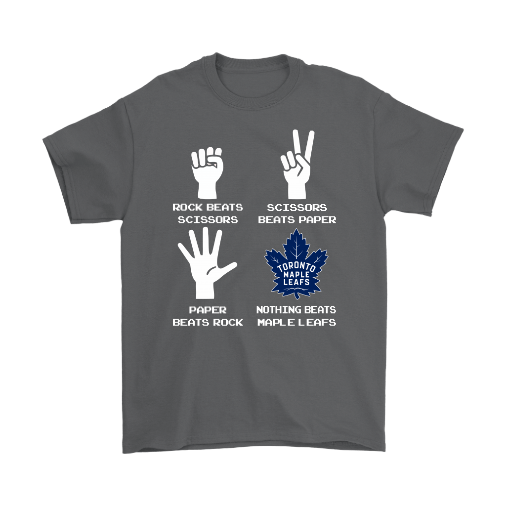 Rock Paper Scissors Nothing Beats The Toronto Maple Leafs Shirts 2