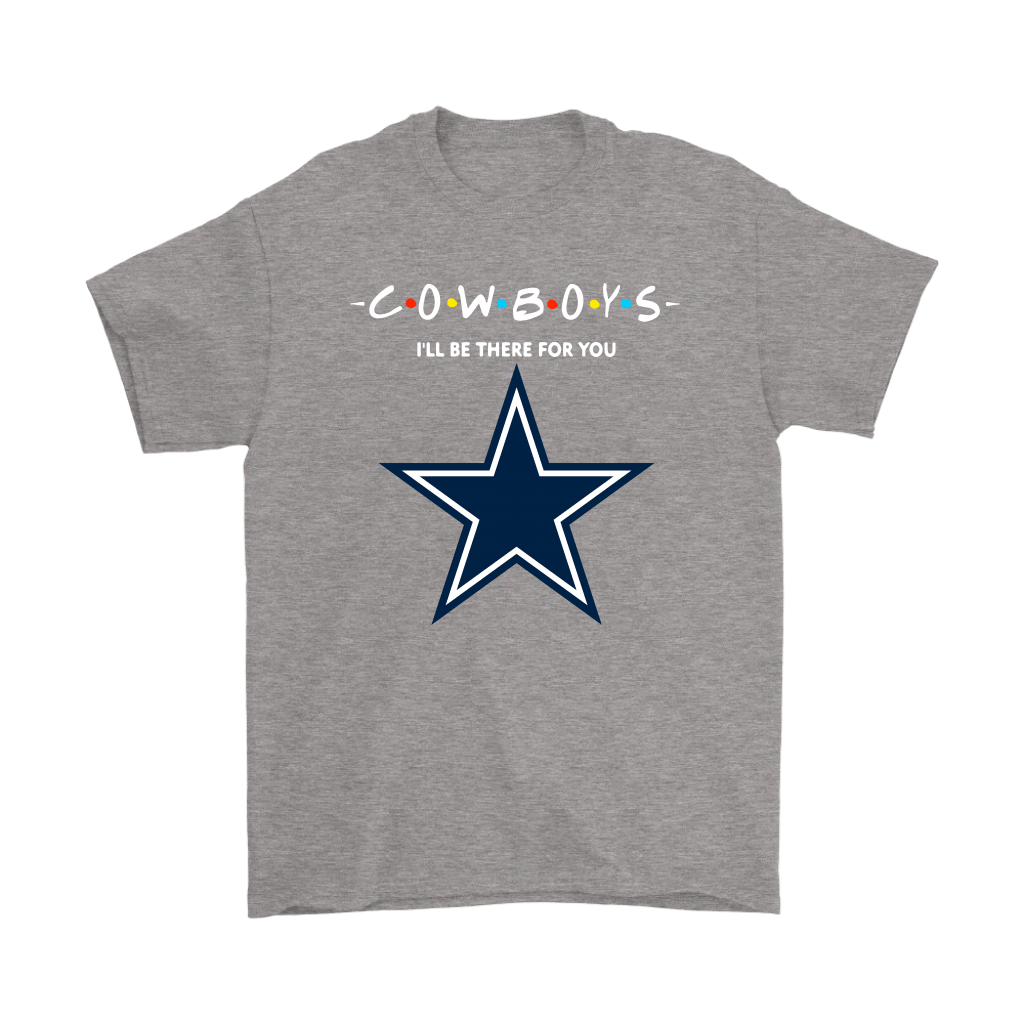I'll Be There For You Dallas Cowboys FRIENDS Movie NFL Shirts 7
