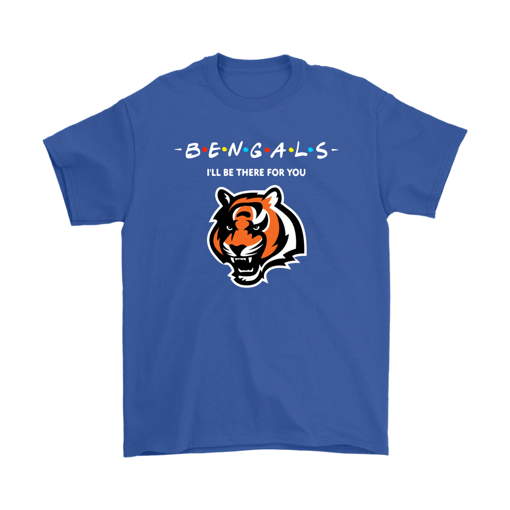 I'll Be There For You Cincinnati Bengals FRIENDS Movie NFL Shirts 6