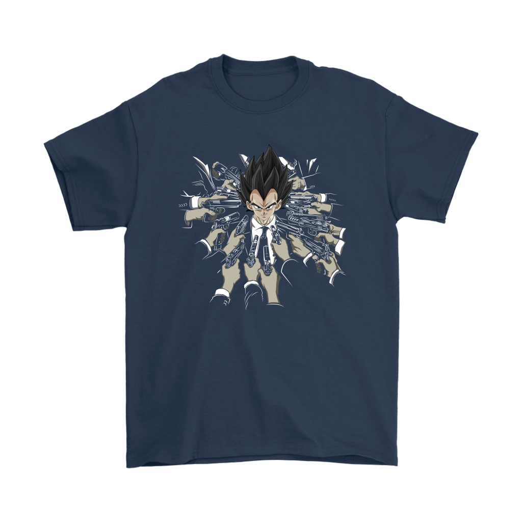 Vegeta Dragon Ball John Wick Shirts 10