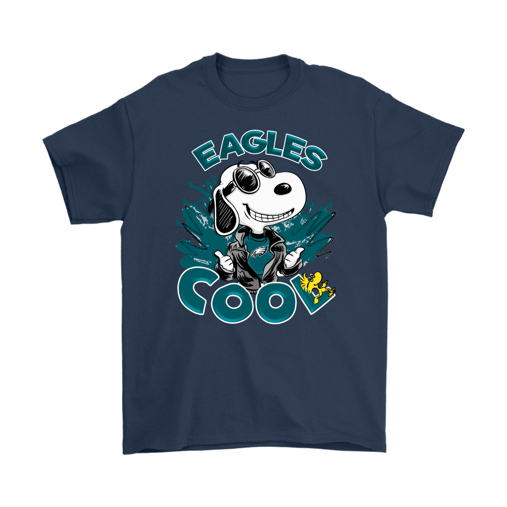 Philadelphia Eagles Snoopy Joe Cool We're Awesome Shirts 3