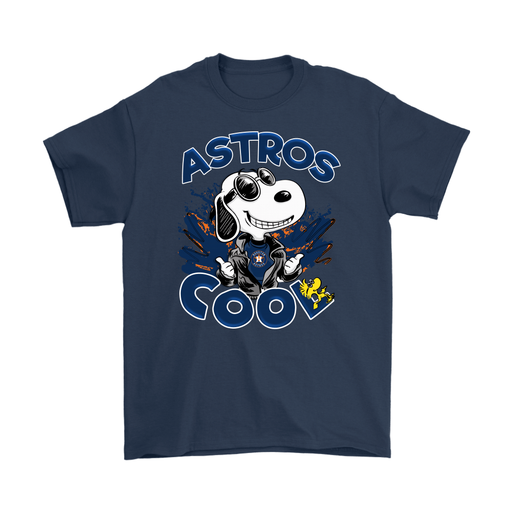 Houston Astros Snoopy Joe Cool We're Awesome Shirts 3
