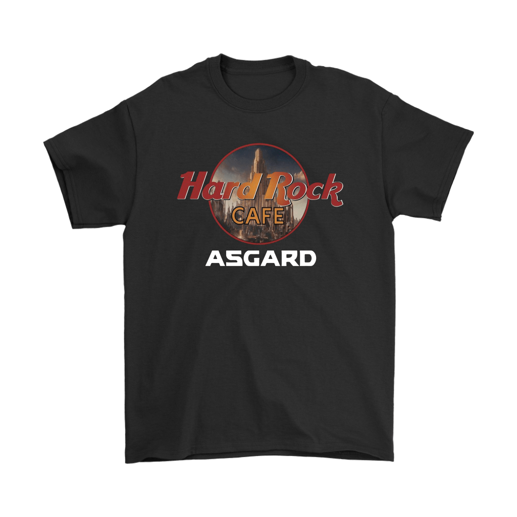 Hard Rock Cafe Asgard Marvel Avengers Shirts 1