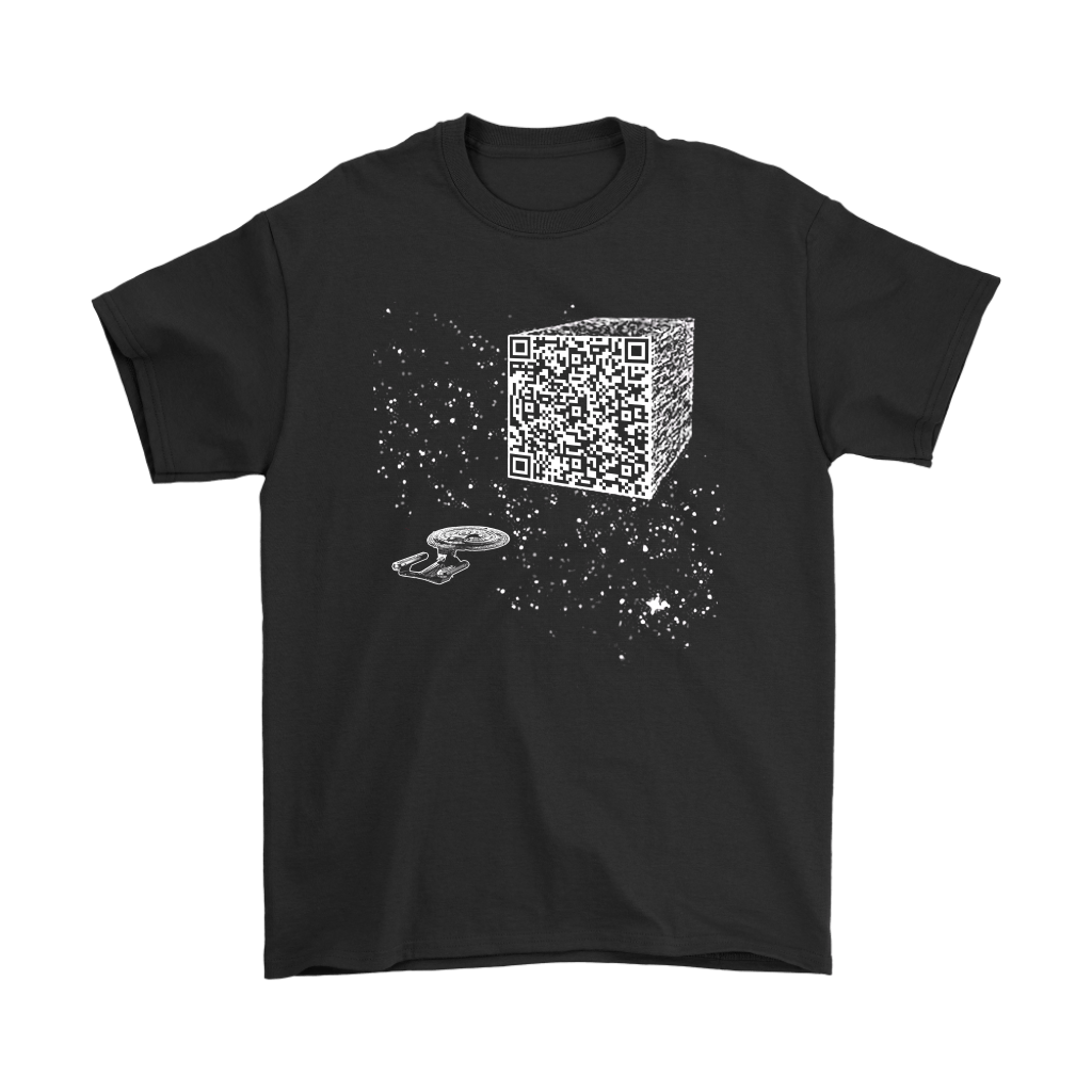 Star Trek We Are The Borg Resistance Is Futile Barcode Shirts 1