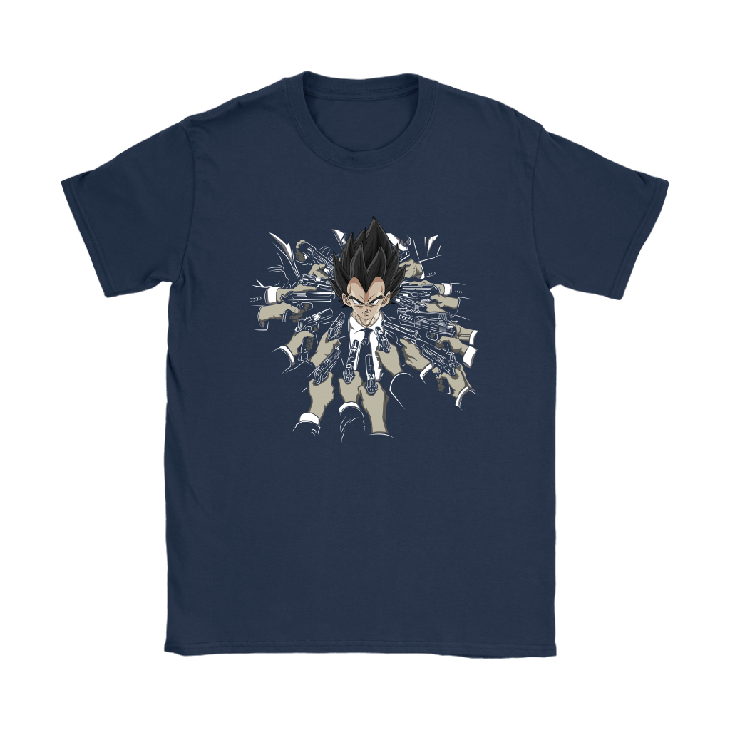 Vegeta Dragon Ball John Wick Shirts 14