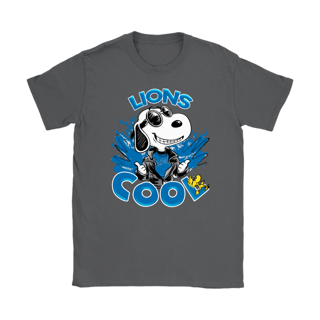 Detroit Lions Snoopy Joe Cool We're Awesome Shirts 9