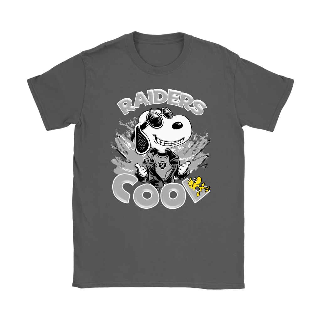 Oakland Raiders Snoopy Joe Cool We're Awesome Shirts 9