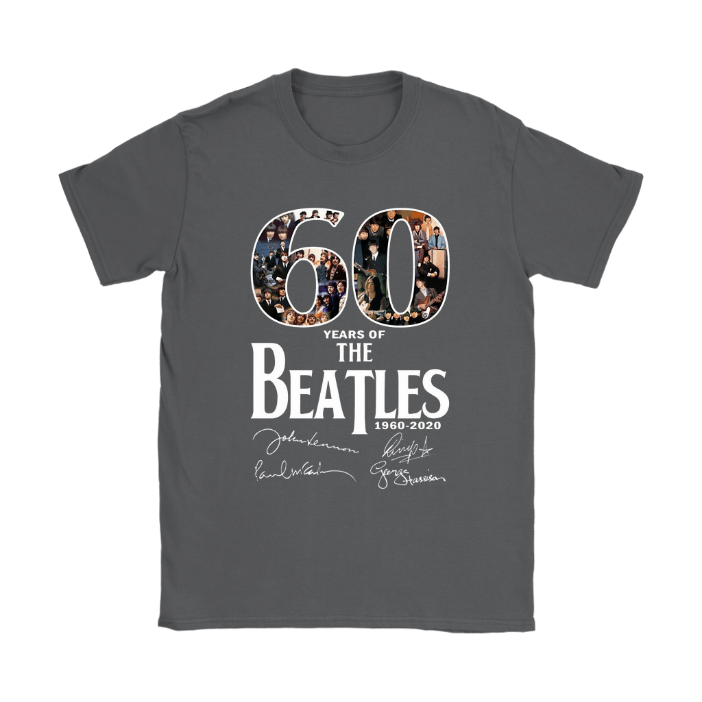 60 Years Of The Beatles 1960-2020 Signatures Shirts 8