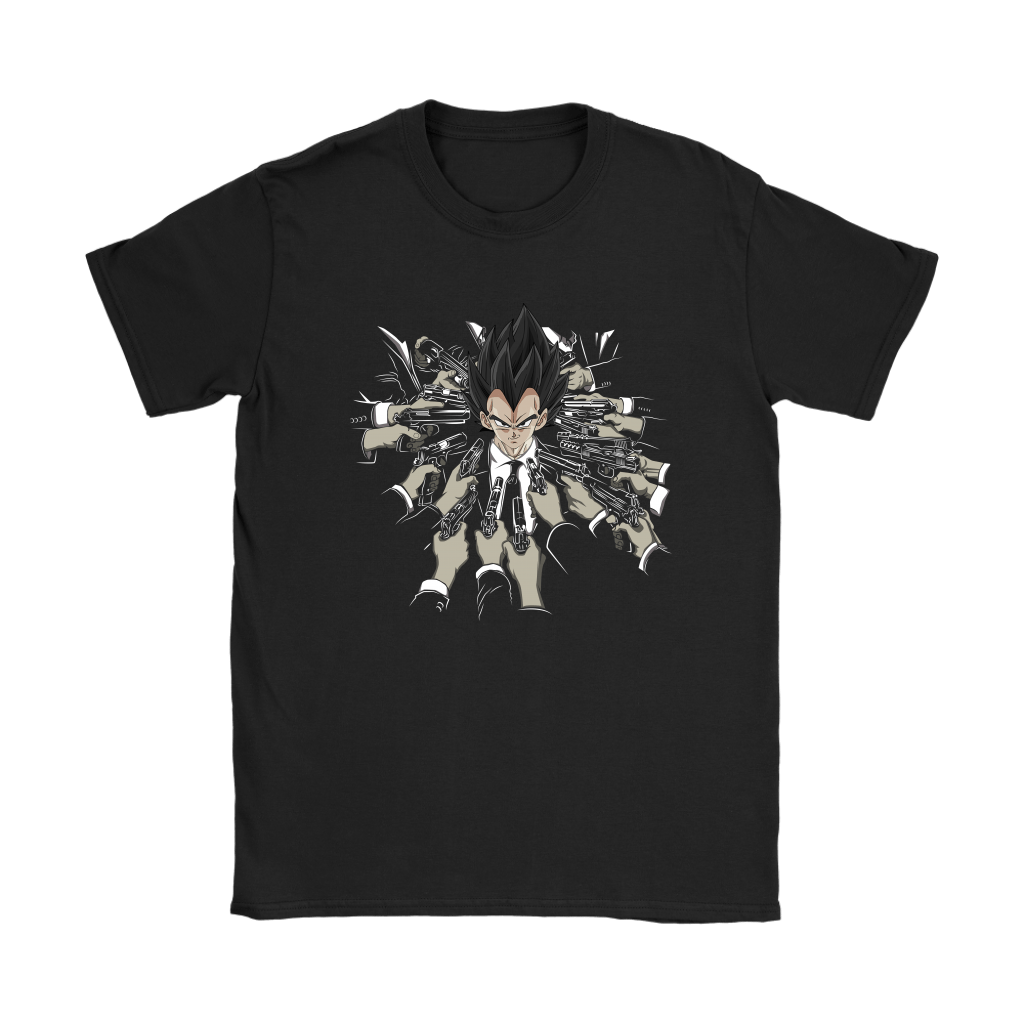 Vegeta Dragon Ball John Wick Shirts 5