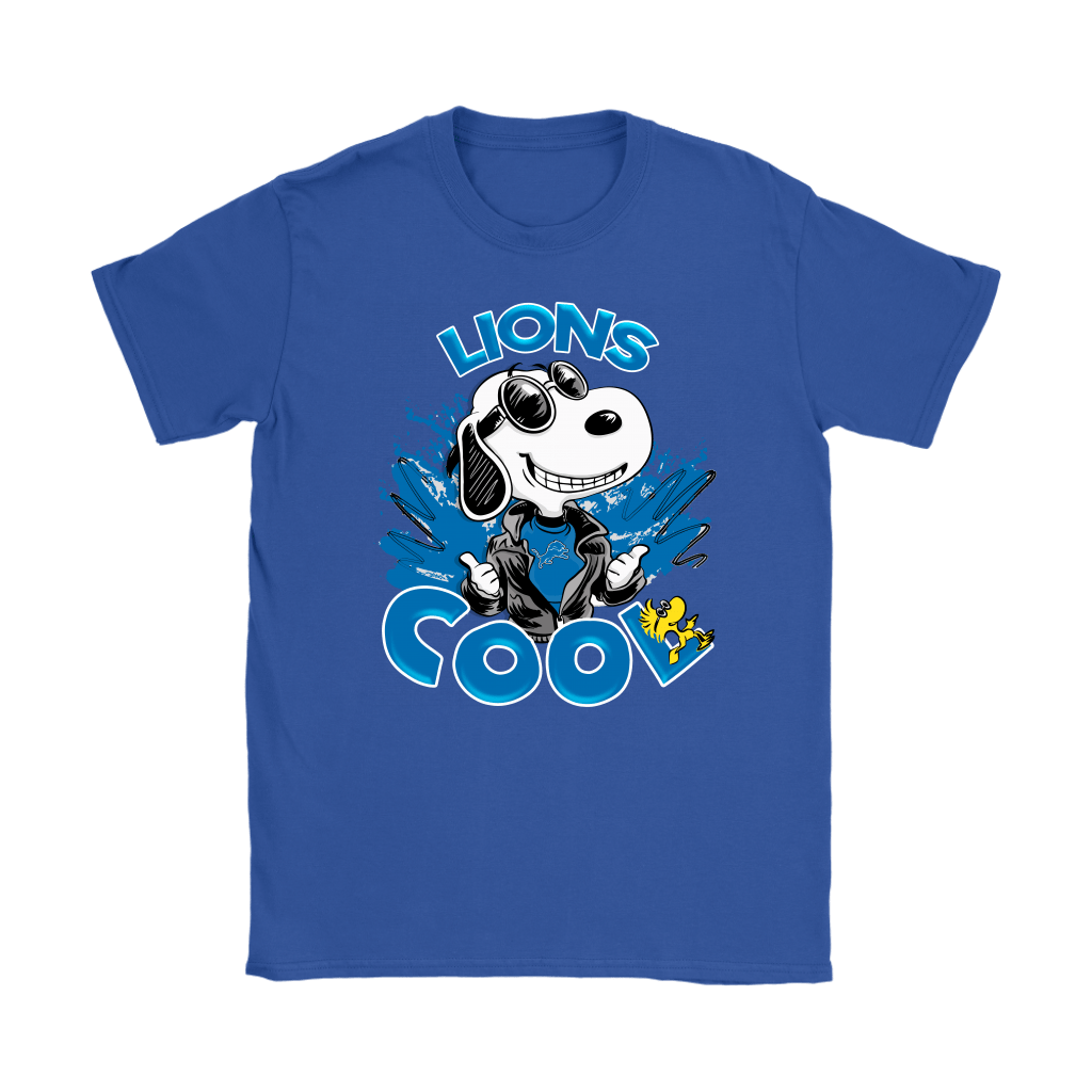 Detroit Lions Snoopy Joe Cool We're Awesome Shirts 13