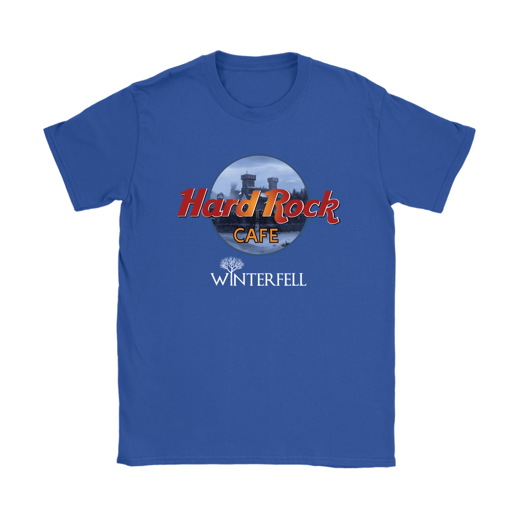 Hard Rock Cafe Winterfell Game Of Thrones Shirts 13