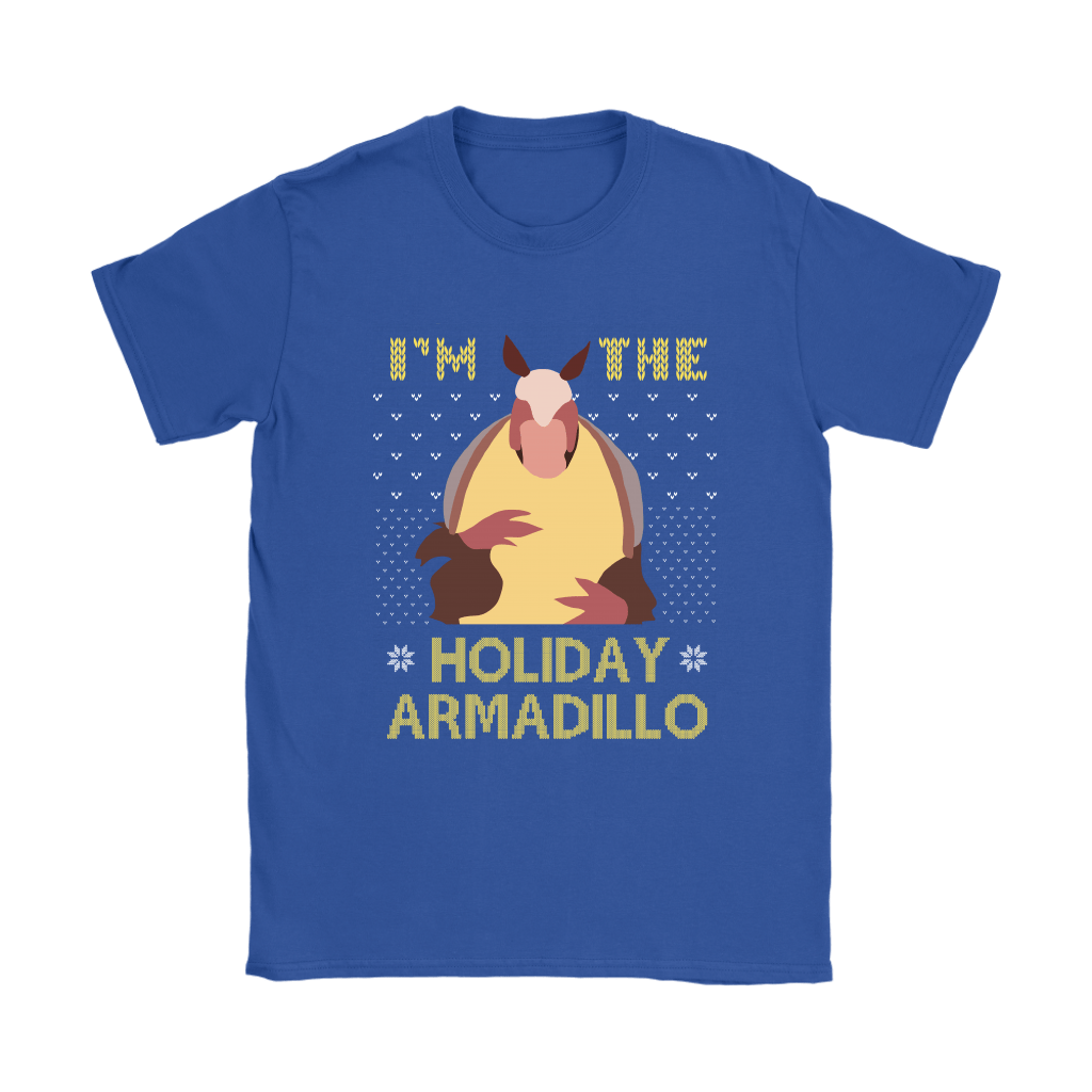 I'm The Holiday Armadillo F.R.I.E.N.D.S Christmas Holiday Shirts 11