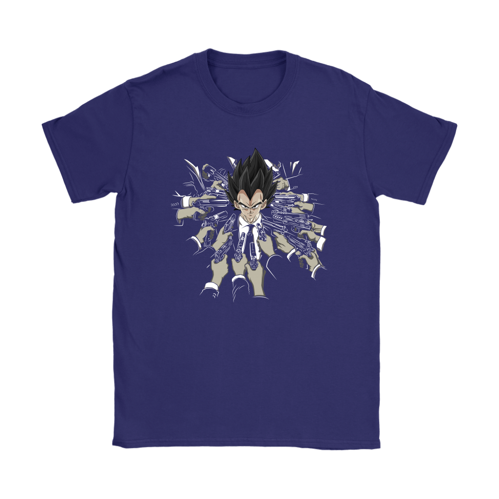 Vegeta Dragon Ball John Wick Shirts 15