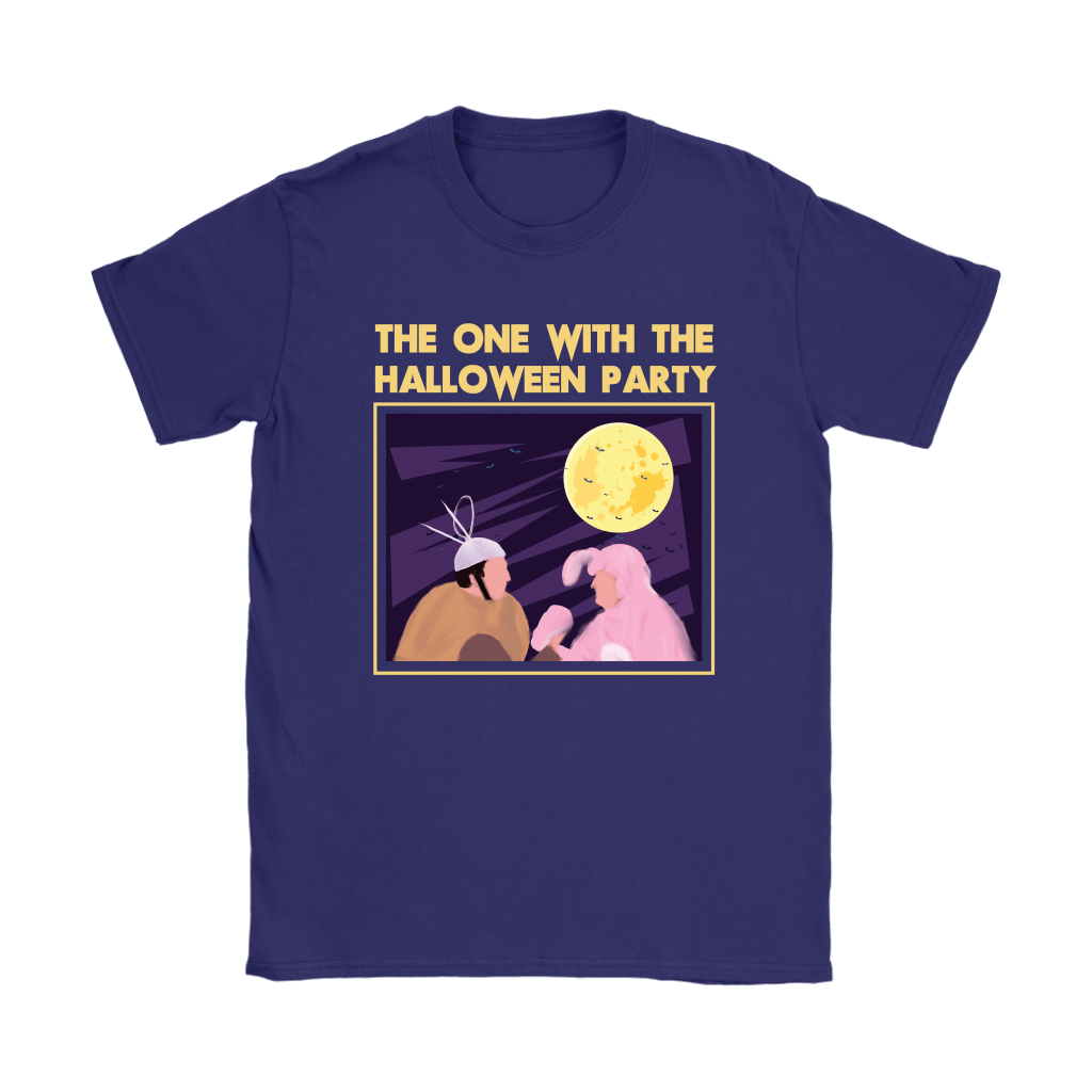 Ross And Chandler The One With The Halloween Party FRIENDS Shirts 9