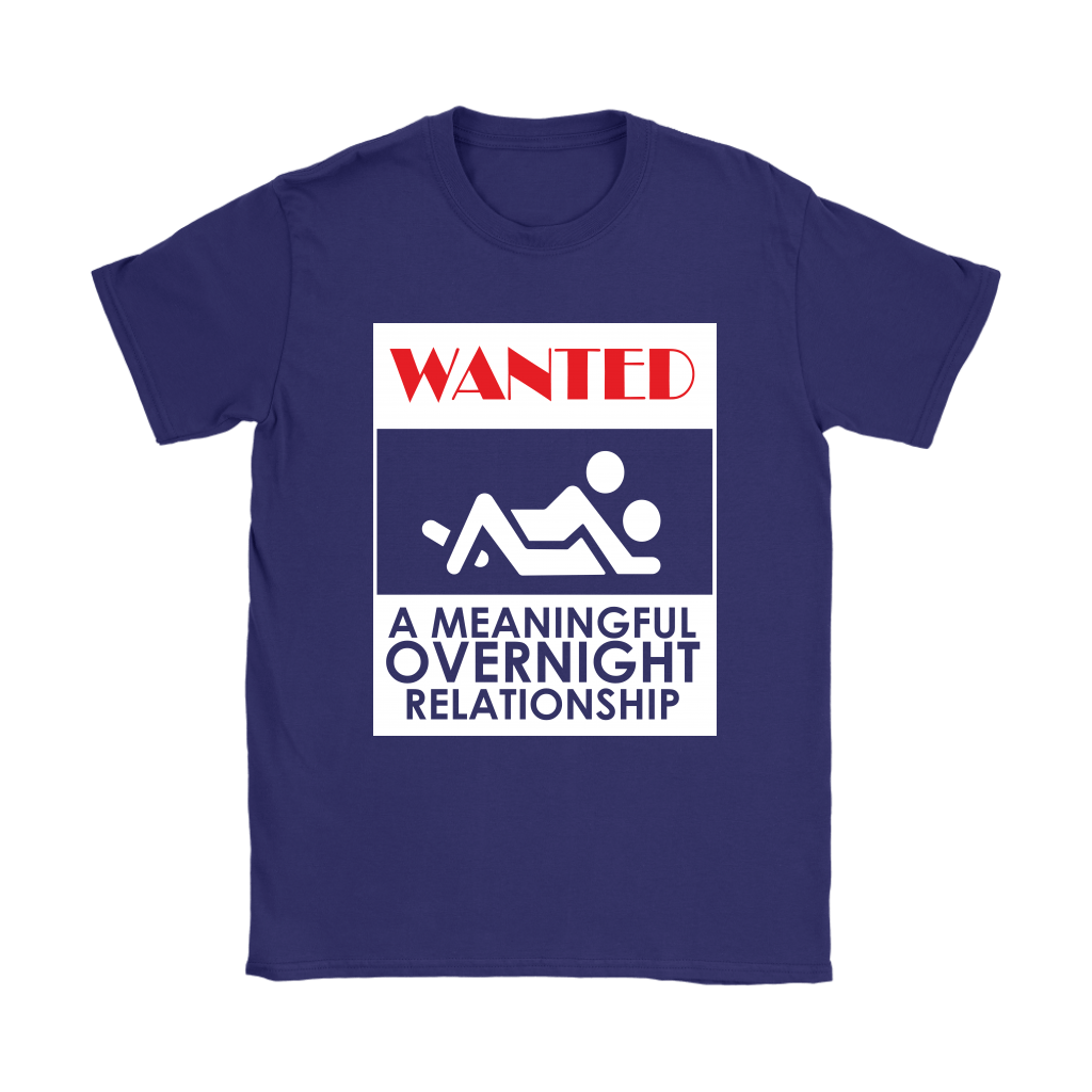 WANTED A Meaningful Overnight Relationship Stick Figure Shirts 10