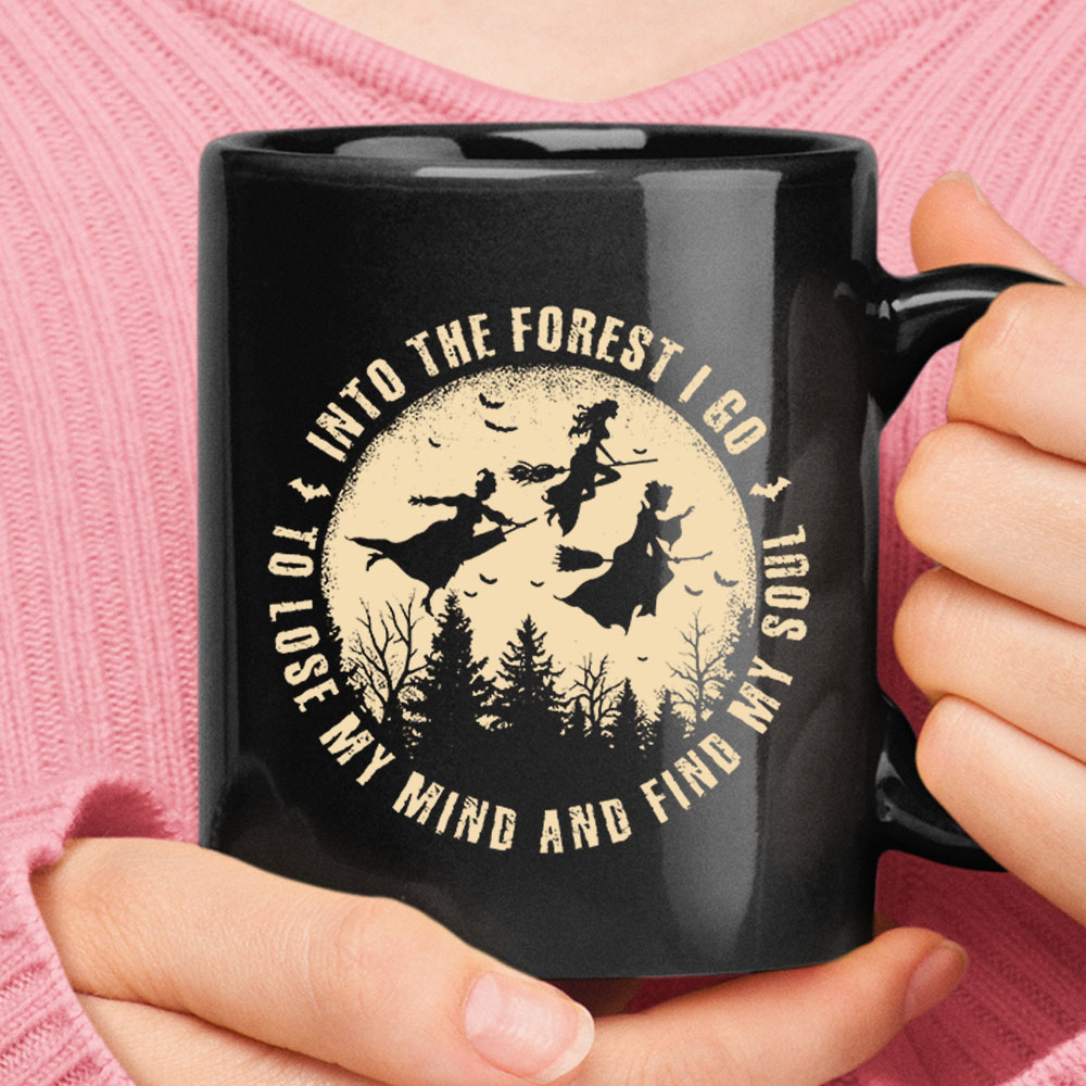 Into The Forest I Go To Lose My Mind Find My Soul Hocus Pocus Mug Nfl T Shirts Store