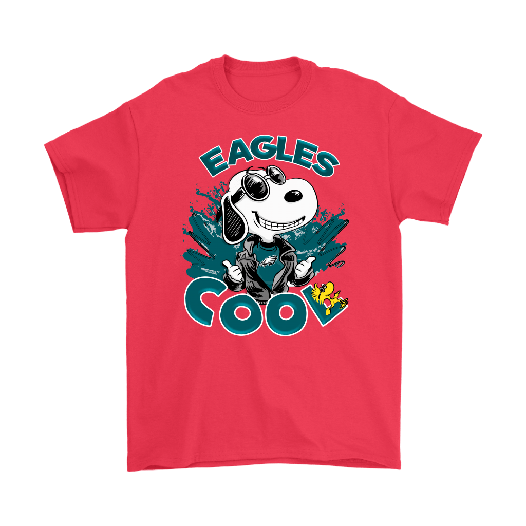 Philadelphia Eagles Snoopy Joe Cool We're Awesome Shirts 5