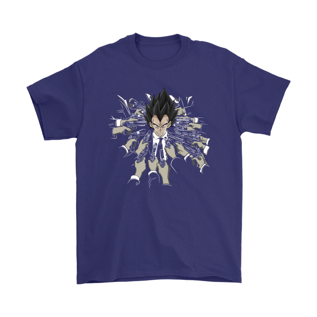 Vegeta Dragon Ball John Wick Shirts 11