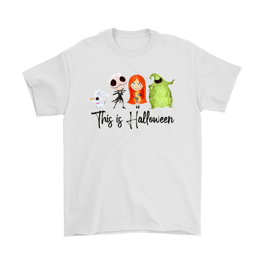 Cute Small The Nightmare Before Christmas This Is Halloween Shirts 1