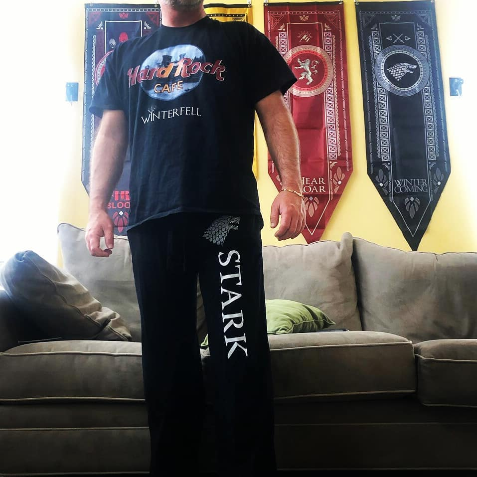 Hard Rock Cafe Winterfell Game Of Thrones Shirts photo review