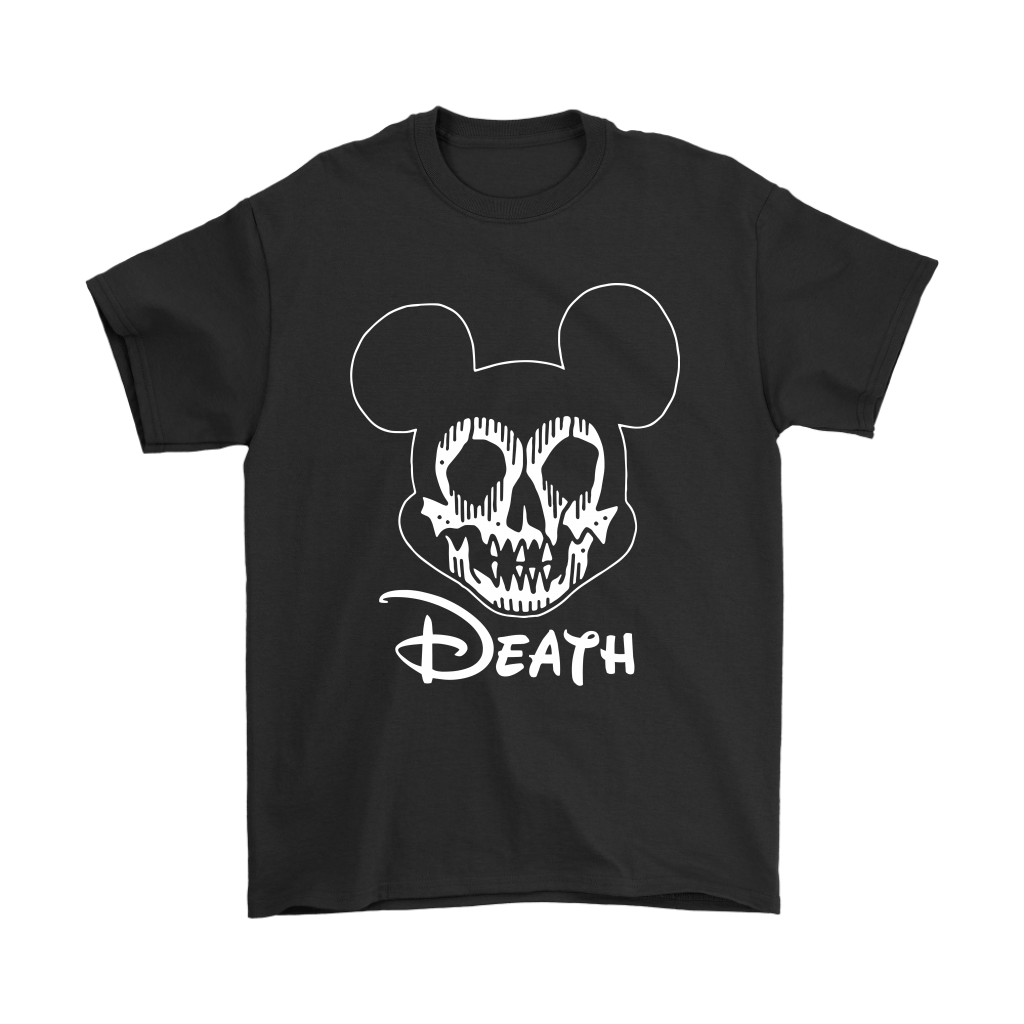 Disney Mickey Mouse Logo Death Mouse Metalhead Shirts 1