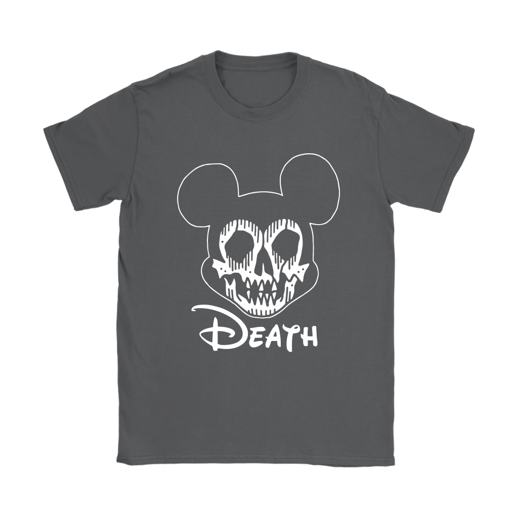 Disney Mickey Mouse Logo Death Mouse Metalhead Shirts 19
