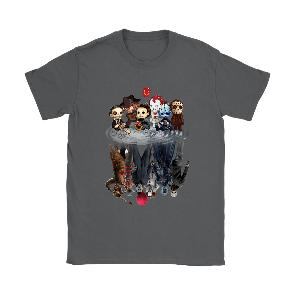 Horror Movies Killers Chibi Reflection Shirts 16