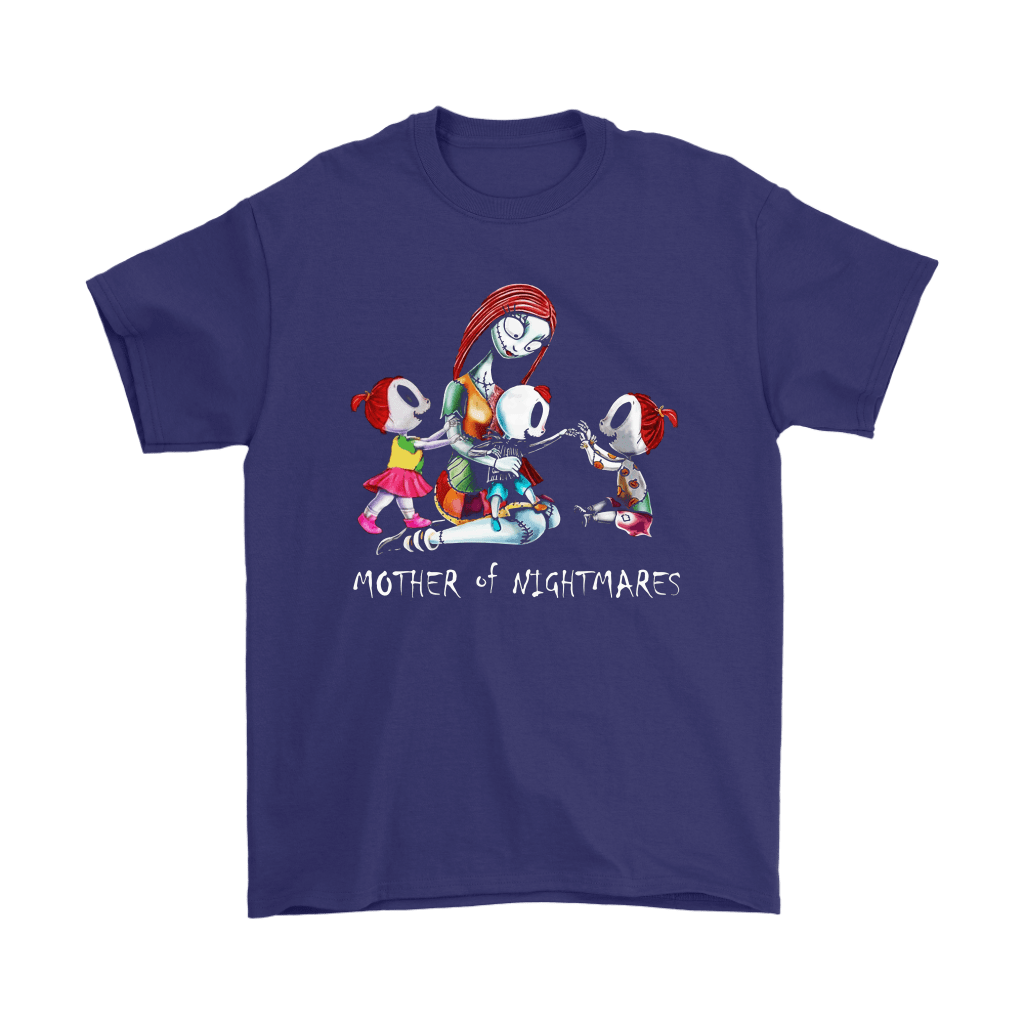 Sally Mother Of Nightmares Three Children Funny Family Shirts 4