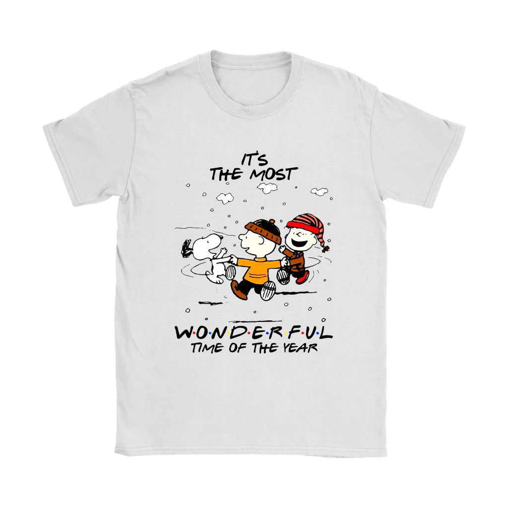 It's The Most Wonderful Time Of The Year Snoopy FRIENDS Shirts 2