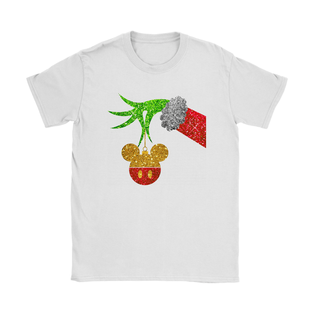 The Grinch Steals Christmas Mickey Mouse Shirts 14