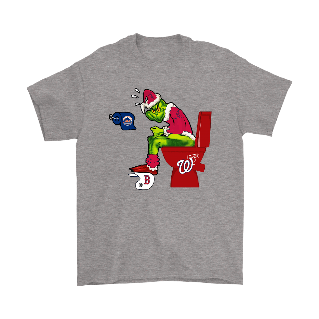 The Grinch Atlanta Braves Shit On Other Teams MLB Shirts 19