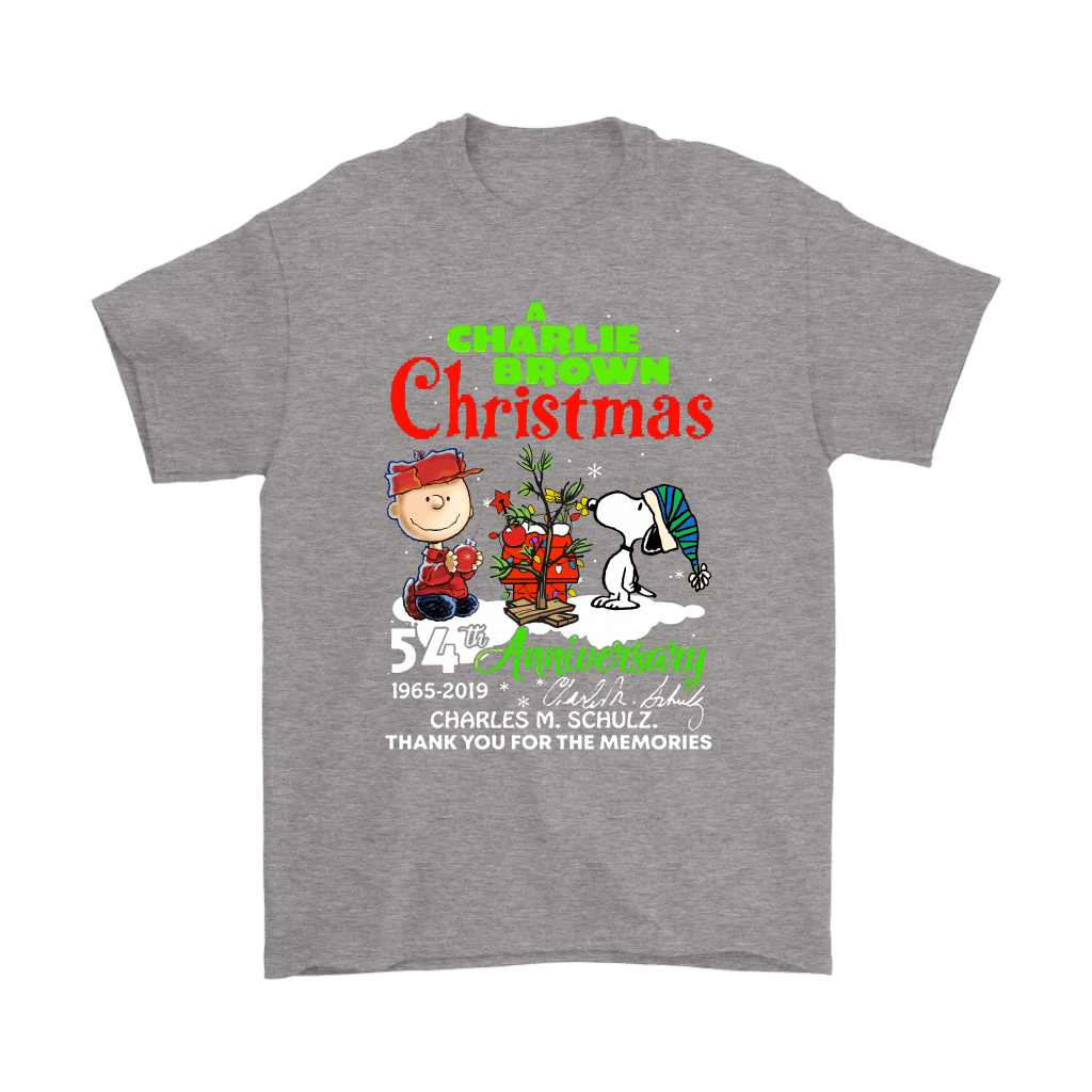 A Charlie Brown Christmas 54th Anniversary Snoopy Shirts 6