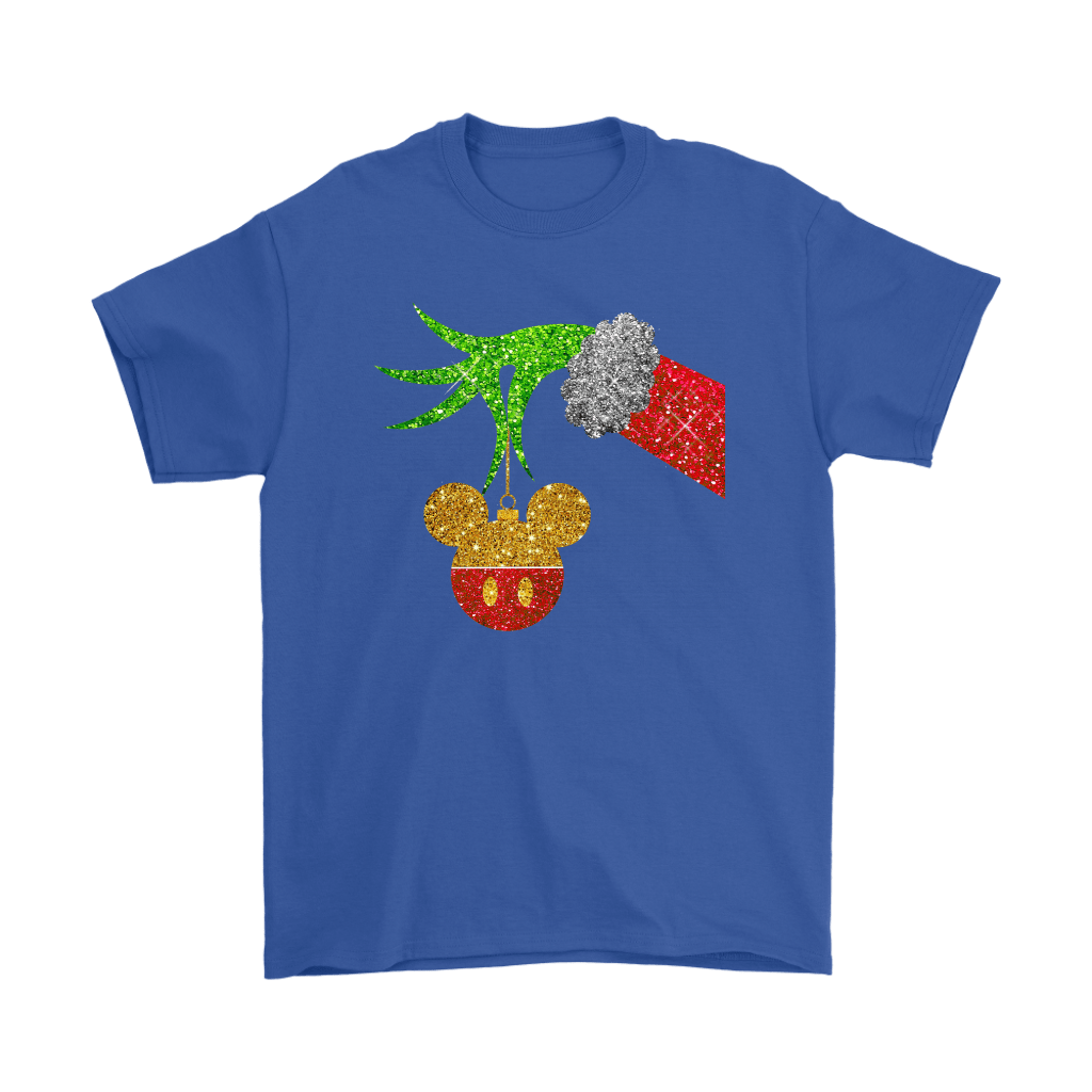 The Grinch Steals Christmas Mickey Mouse Shirts 5