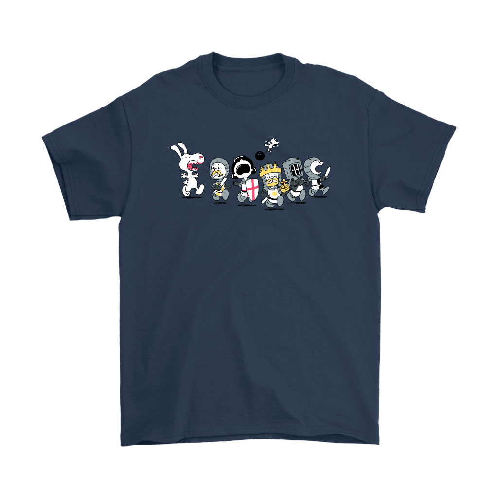 The Killer Rabbit of Caerbannog Monty Python Snoopy Shirts 1