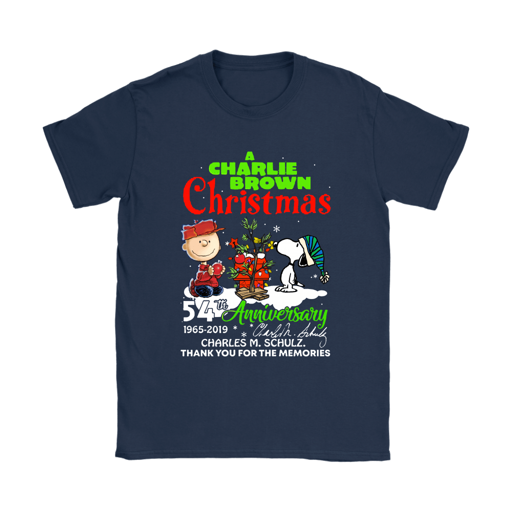 A Charlie Brown Christmas 54th Anniversary Snoopy Shirts 9