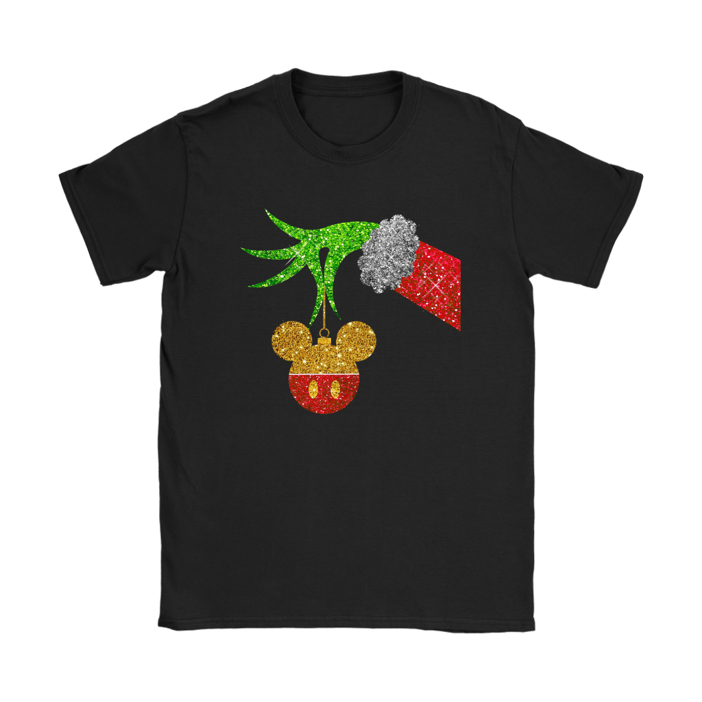 The Grinch Steals Christmas Mickey Mouse Shirts 8