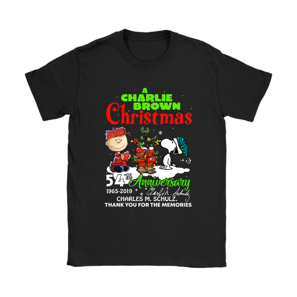A Charlie Brown Christmas 54th Anniversary Snoopy Shirts 7