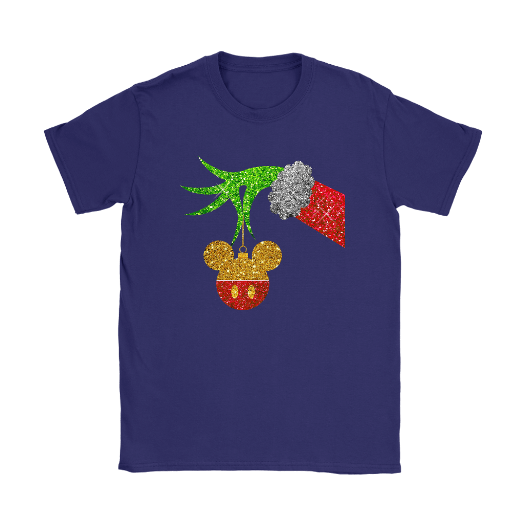 The Grinch Steals Christmas Mickey Mouse Shirts 11