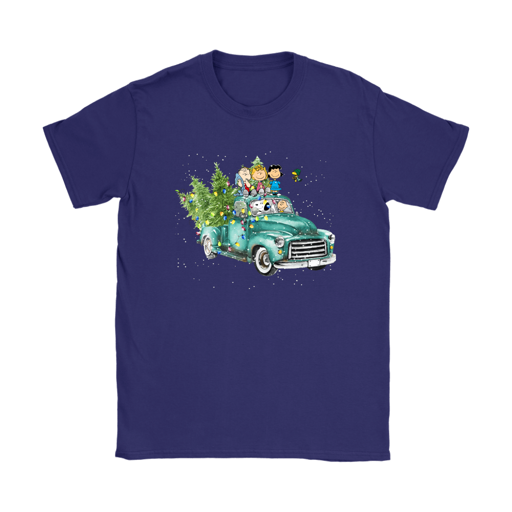 Snoop And The Peanuts Drive Home With The Christmas Trees Shirts 9