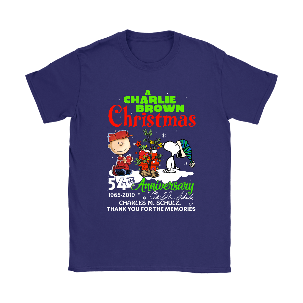 A Charlie Brown Christmas 54th Anniversary Snoopy Shirts 10