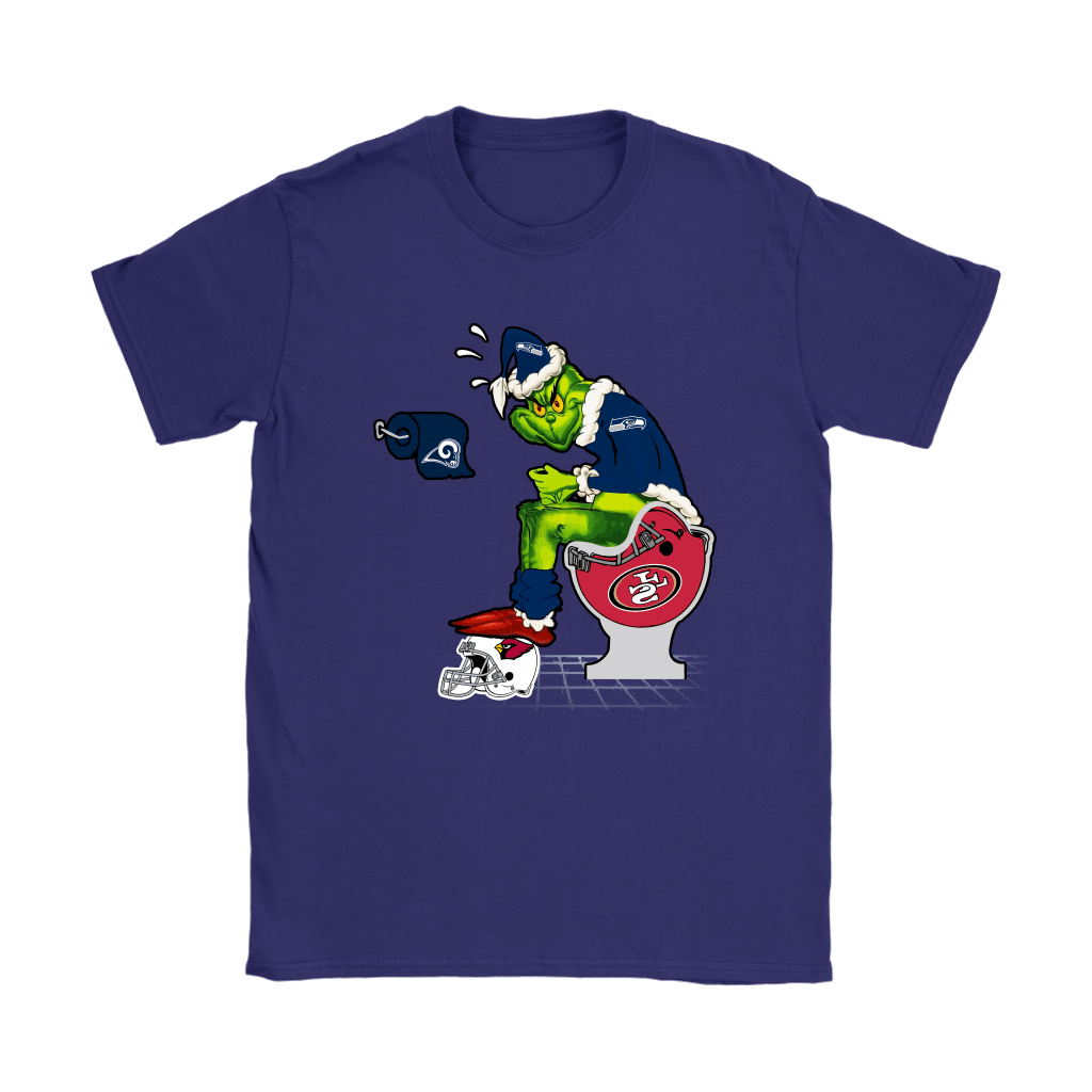 The Grinch Seattle Seahawks Shit On Other Teams Christmas Shirts 24