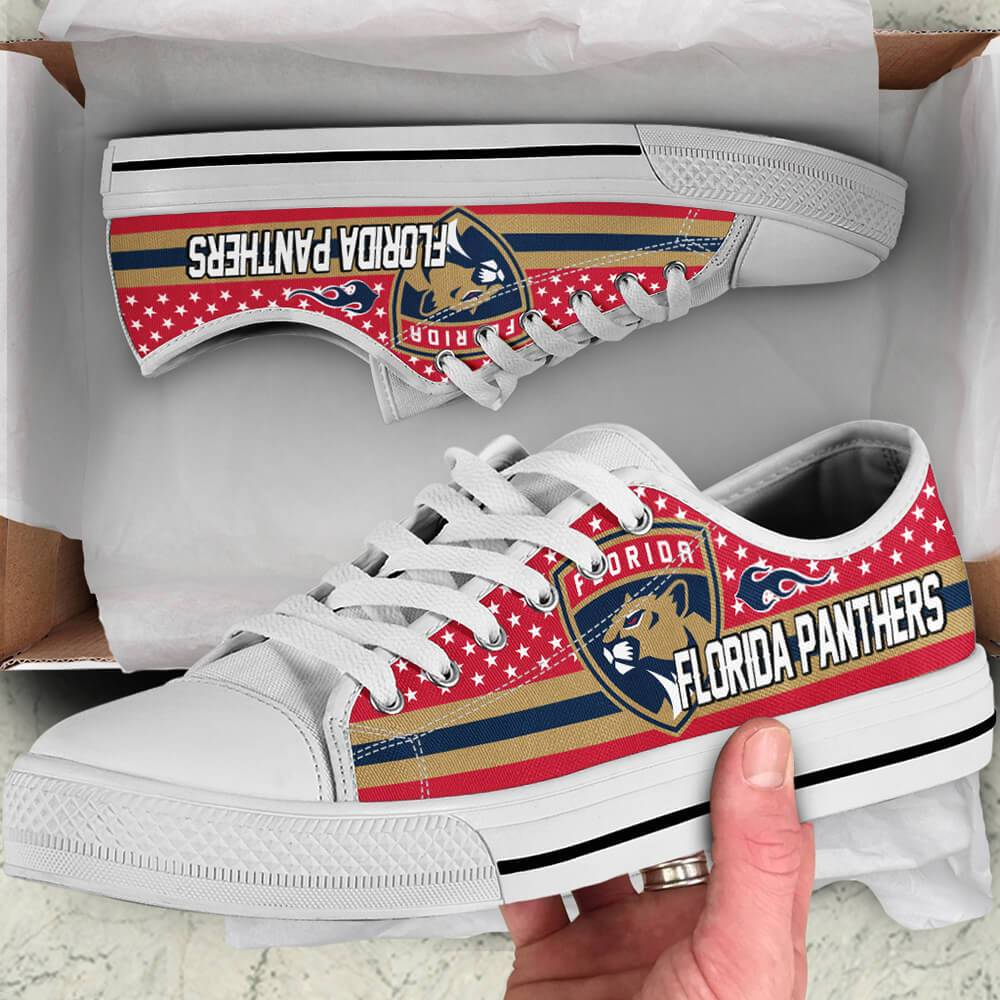 Florida Panthers Legend Since 1993 NHL Hockey Teams Red Low Top Shoes 1