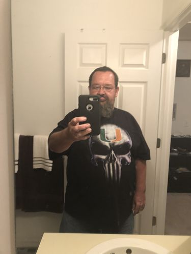 Miami Hurricanes Football x Punisher Logo Skull NCAA Shirts photo review