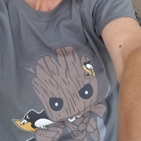Groot I Am Goalie Matt Murray Pittsburgh Penguins NHL Shirts photo review